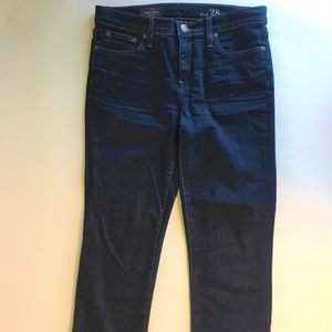 New J. Crew Cropped Blue Jeans size 28